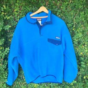 Blue Patagonia fleece EUc!